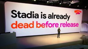 Has Google Stadia failed before its released