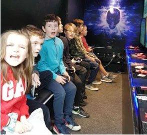 Gamevan Birthday Party